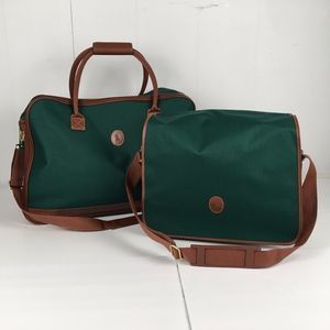 Ralph Lauren Polo Satchel / Duffle Bag Set of 2